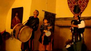 Medieval song in Saint Saturnin/Auvergne