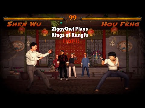 ZiggyOwl Plays Kings of Kung fu Play As Random Kung fu Masters #KingsofKungfu |