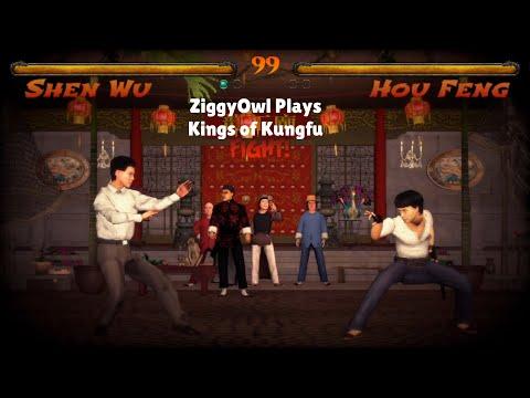 ZiggyOwl Plays Kings of Kung fu Play As Random Kung fu Masters #KingsofKungfu |