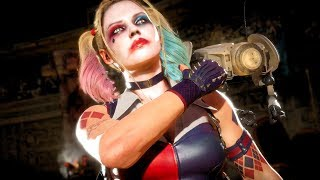 MK11 Harley Quinn Performs All Victory Celebrations Outro 4 (Cassie Quinn Skin)