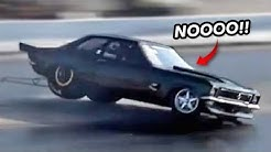 NASTY ROLLOVER WRECK & MORE!   Drag Week Day 2