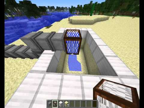 Fr tuto cr ation d 39 une piscine dans minecraft youtube for Apprendre a plonger dans une piscine