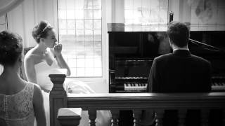 Groom wows bride at wedding with surprise piano performance of own song  - My Vows