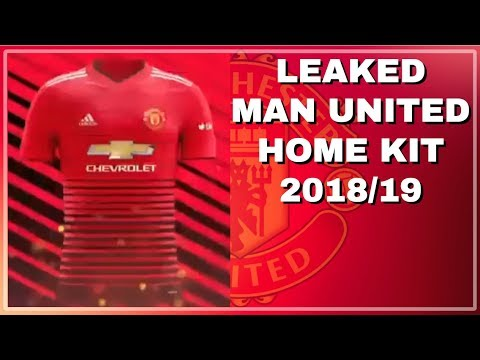 MANCHESTER UNITED HOME KIT 2018 19 LEAKED!!! - YouTube 5f5f856a5