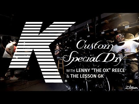 "K Custom Special Dry Performance - Lenny ""The Ox"" Reece & The Lesson GK"