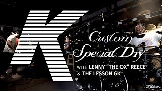 """K Custom Special Dry Performance - Lenny """"The Ox"""" Reece & The Lesson GK"""