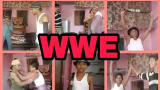 WWE Desi man VS Jone cina and Roman Rainghs ! Yadav Rocks