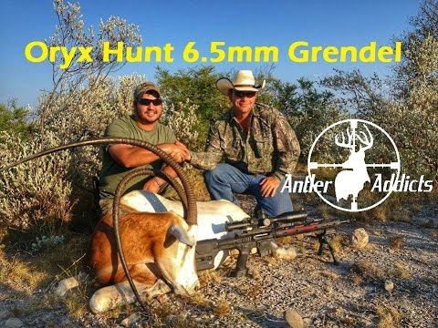 Hunting Exotics In Texas - Oryx Hunting With 6.5mm Grendel Part 1