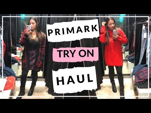 HUGE AUTUMN PRIMARK HAUL OCTOBER 2018 + TRY ON  Ysis Lorenna