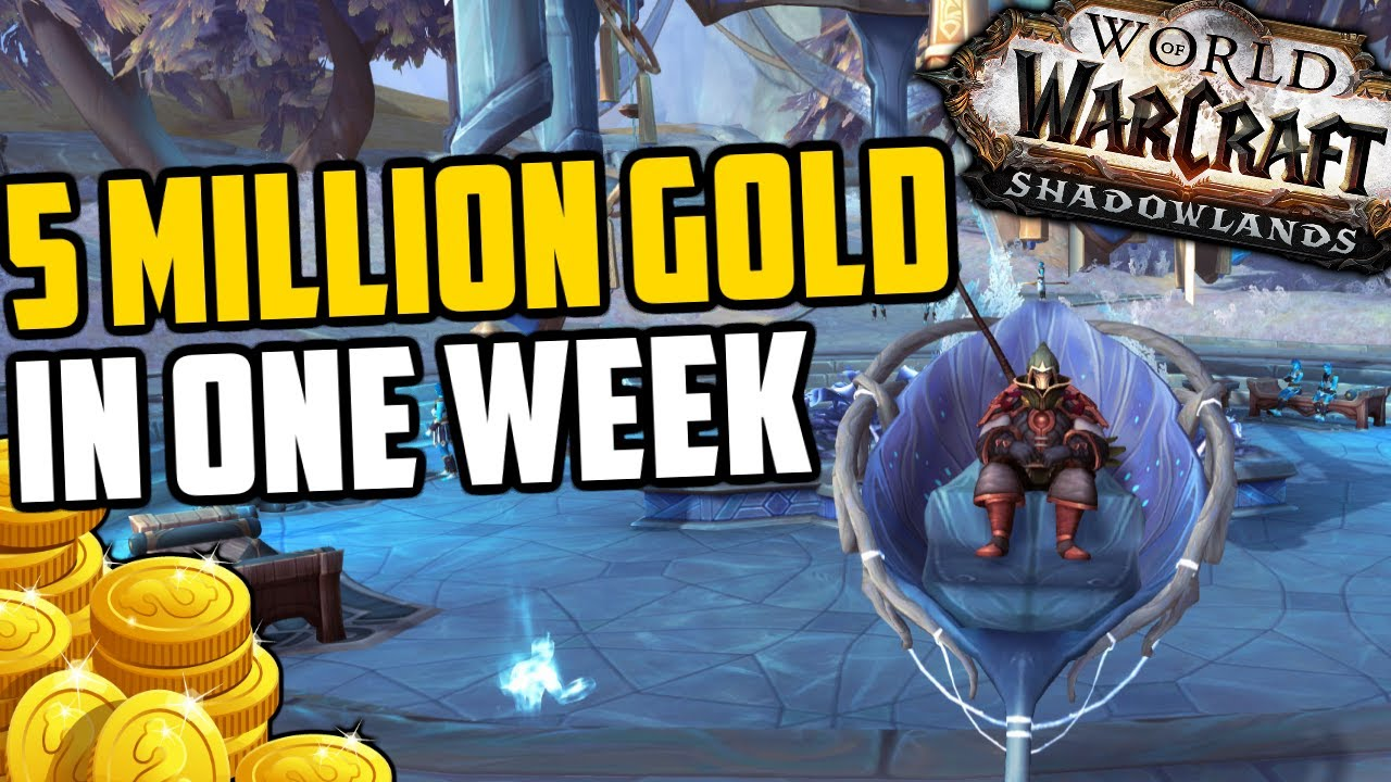 I MADE 5 MILLION GOLD IN ONE WEEK - Here's how | Shadowlands Goldmaking