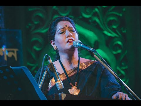Download Bhalobeshe sokhi nibhrite jotone by Jayati Chakraborty || Tagore song || Photomix