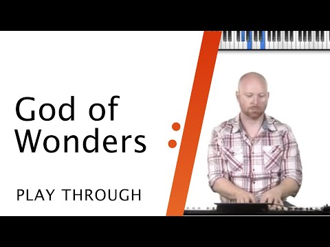 Keyboard Tutorial // God of Wonders // Paul Baloche