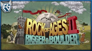 Český GamePlay | Rock of Ages 2 - Multiplayer Feat. Agraelus