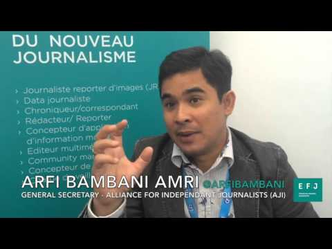 Interview Arfi Bambani Amri #4MPARIS