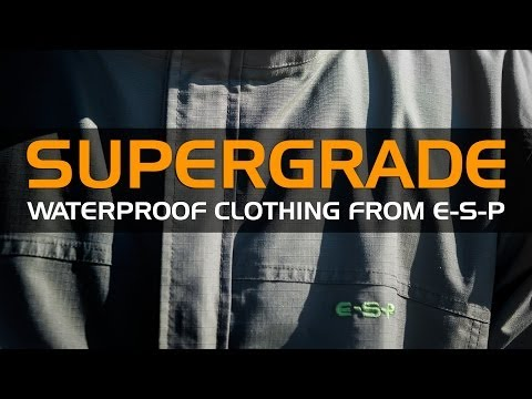 ESP SuperGrade Waterproof Clothing Range (2013)