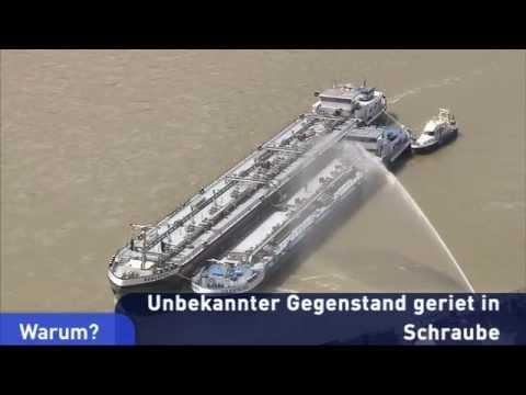 Havarie eines Tankschiffes