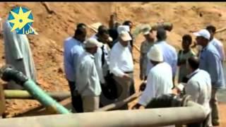 بالفيديو : جولة التفقدية لمحافظ اسوان لقرى توطين بحيرة ناصر