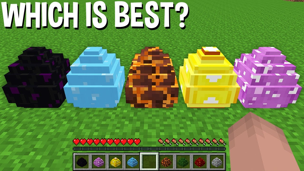 WHICH DRAGON EGG is the BEST in Minecraft ? SPAWN NEW DRAGON !