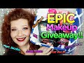 EPIC Makeup Giveaway!  Marc Jacobs Kat Von D Morphe Urban Decay Too Faced & More! INTERNATIONAL