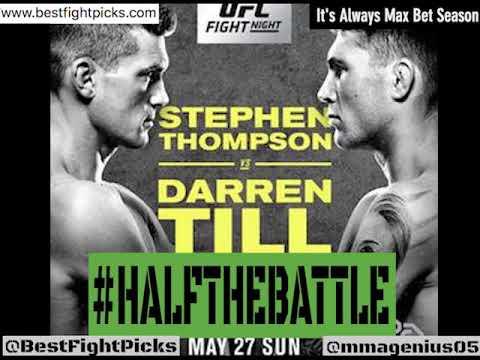 UFC Liverpool: Wonderboy vs Till Bets, Picks Predictions on Half The Battle (UFC Fight Night 130)