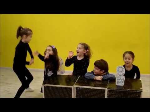 Первый открытый урок младшей группы. Возраст 5-7 лет