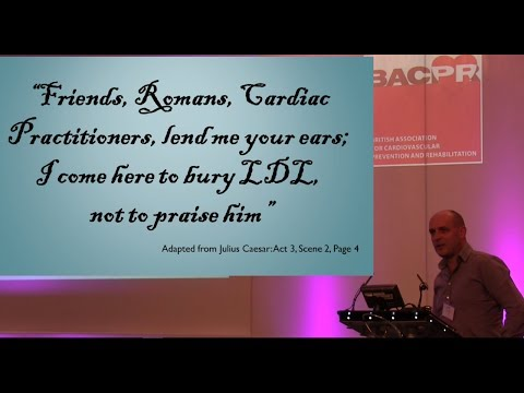 Ivor Cummins Talk at Cardiology Conference BACPR 2017 London