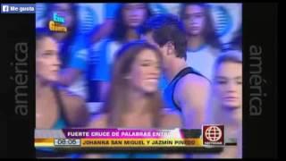 JOHANNA SAN MIGUEL Y JAZMÍN PINEDO SE PELEARON EN ESTO ES G...