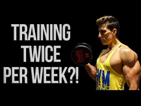 Training Muscles Once or 2+ Times Per Week - WHICH IS IDEAL?!