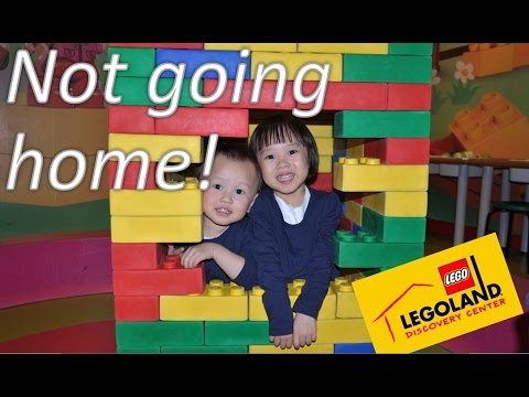 23 days long Family Adventure - Day 12 (LEGOLAND Discovery center, Manchester)