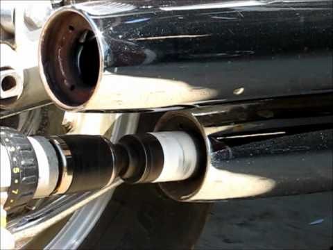 How gut stock exhaust on Yamaha Virago 1100