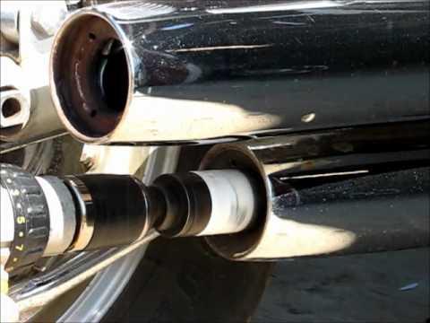 How gut stock exhaust on Yamaha Virago 1100 & How gut stock exhaust on Yamaha Virago 1100 - YouTube