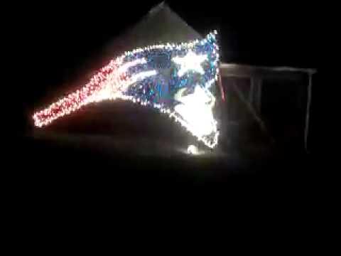 New England Patriots Christmas Decorations