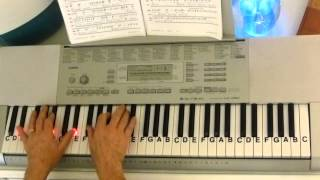 How To Play ~ Memory ~ Barbra Streisand ~ LetterNotePlayer ©