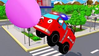 Camion de pompier et Super Piste - NOUVEAU | Dessin animé en français - Voitures pour bébés