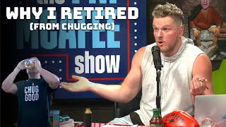 Why Pat McAfee Retired His Legendary Chug