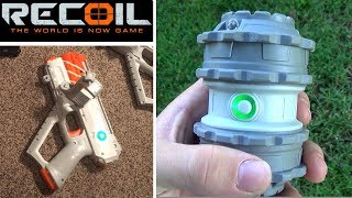 Recoil Laser Tag - Frag Grenade - How Recoil Works! | TanMan321Go