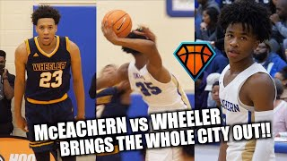 Sharife Cooper EPIC GAME vs LOADED Wheeler Squad!! Sophomore Year BEFORE His Stock SOARED