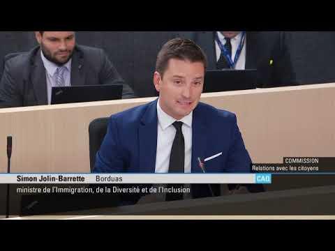 Remarques préliminaires-planification de l'immigration au Québec pour la période 2020-2022