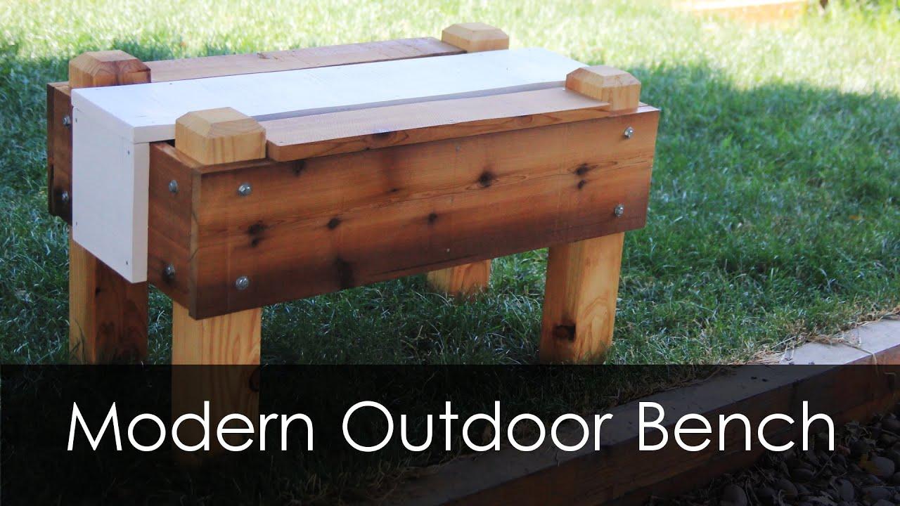 Modern outdoor bench - Modern Outdoor Bench 44