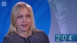 Elina Lepomäki Ylen vaalitentissä 2015