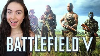 FIRST TIME PLAYING BATTLEFIELD V!! - Presented By EA (Closed Alpha)