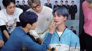 This is literally why I don't let guys do my makeup (ft. KNK 크나큰) - Edward Avila