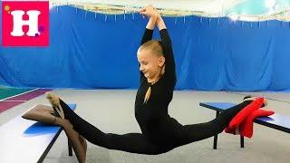 Индивидуальная тренировка по Художественной Гимнастике 😊 Что я беру на тренировку ❓ Мяч / Обруч