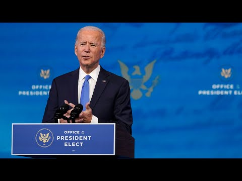 Biden condemns Trump's election claims as an abuse of power