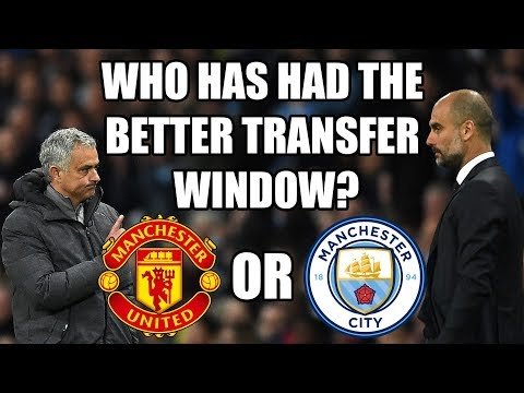 The Transfer Window: Manchester United v Manchester City