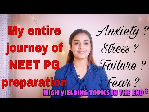 My NEET PG preparation journey | Fears , failures , anxiety and everything |Real talk with Dr Kanika