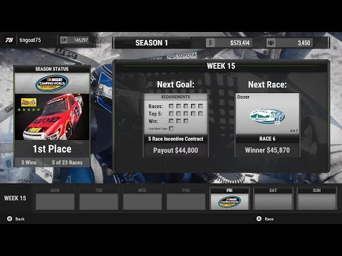 Nascar Heat 2 (Career Mode/Rookie Season/Race #6) | Dover Bar Harbor 200