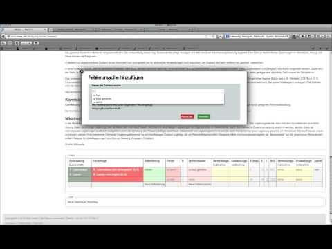 FMEA erstellen in webbasierter Software