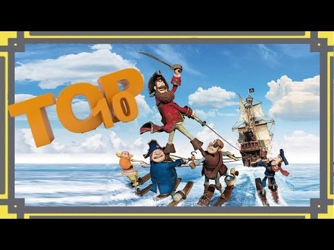 Top 10 Scenes - The Pirates! In an Adventure with Scientists!
