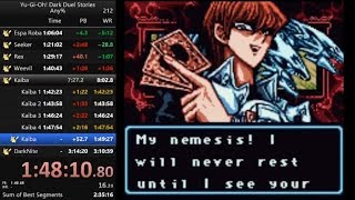 Yu-Gi-Oh! Dark Duel stories any% speedrun in 3:02:43 (with audio commentary)